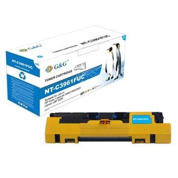 Тонер касета за HP COLOR LASER JET 2550 / 1500 / 2500 / CANON LBP5200, Cyan, - NT-C3961FUC - G&G - неоригинален, Заб.: 4000 брой копия image