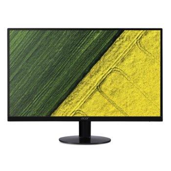 "Монитор Acer SA240YBbmipux (UM.QS0EE.B01), 23.8"" (60.45 cm) IPS панел, 75Hz, Full HD, 1ms, 250 cd/m2, DisplayPort, HDMI, USB 3.1 Type C image"