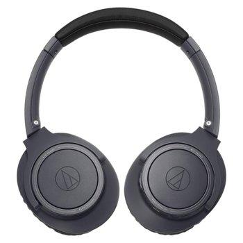 Слушалки Audio-Technica ATH-SR30BT, Вluеtооth, Микрофон, Черни image