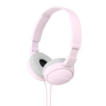 Слушалки Sony MDR-ZX110, розови image