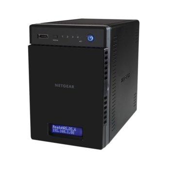 "Мрежови диск (NAS) Netgear ReadyNAS RN21400-100NES, ARM Cortex A15 1.4GHz, без твърд диск(4x SATA/SSD 2.5""/3.5""), 2GB RAM, 2x RJ-45(Gigabit), 3x USB 3.0, 1x eSATA image"