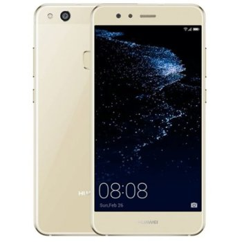 Дисплей за Huawei P10 lite, LCD, с тъч, златист image