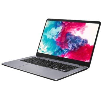 "Лаптоп ASUS VivoBook 15 X505BP (X505BP-BR013), двуядрен Excavator AMD Dual Core A9-9420 2.90/3.60GHz, 15.6"" (39.62 cm) HD LED & AMD Radeon R5 M430 2GB(HDMI), 8GB DDR4, 1TB HDD, 1x USB 3.1 Type C, Linux, 1.68 kg image"