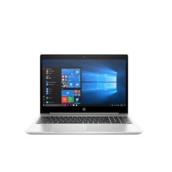 "Лаптоп HP ProBook 450 G6 (8MG38EA)(сив), четириядрен Whiskey Lake Intel Core i7-8565U 1.8/4.6 GHz, 15.6"" (39.62 cm) Full HD Anti-Glare Display & GF MX250 2GB, (HDMI), 8GB DDR4, 256GB SSD & 1TB HDD, 1x USB 3.1 Type-C, Free DOS, 2.00 kg image"