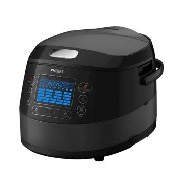 Мултифункционален уред за готвене Philips HD4749, 3D функция за нагряване, 5л, 1070W image