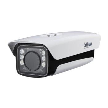 "ANPR IP камера Dahua ITC237-PU1B-IR, насочена ""bullet"" камера, 2MPix (2M(1920×1080)/30FPS), обектив 5-50mm/F1.6, Video compression H.265/H.264M/H.264H/H.264B, IR осветеност (до 40m), Външна IP66, POE+ , Input/Output 2 Input / 1 Output, RJ-45 image"