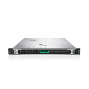 Сървър HPE DL360 G10 (P19775-B21), дванадесетядрен Cascade Lake Intel Xeon-Silver 4214 2.2/3.2 GHz, 16GB DDR4 RDIMM, без твърд диск, 4x 1Gb, 5x USB 3.0, No OS, 1x 500W  image