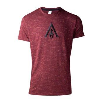 Тениска Bioworld Assassin's Creed Odyssey logo Space, размер M, червена image