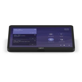 "Конферентен дисплей Logitech Tap Conference Solution Microsoft, 10.1"" (25.65 cm), 1280 x 800, USB 2.0/3.0/3.1 Type C, HDMI image"