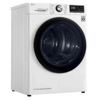 Сушилня LG RC90V9AV2Q, 9кг капацитет, свободностояща, 60 см, автоматично почистване, бял image