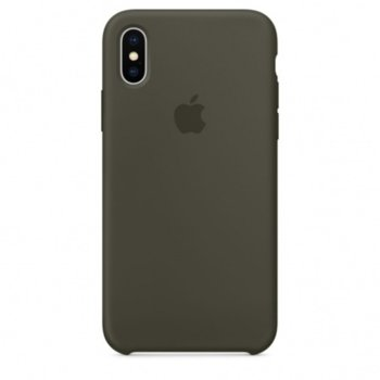 Apple iPhone X Silicone Case - Dark Olive product
