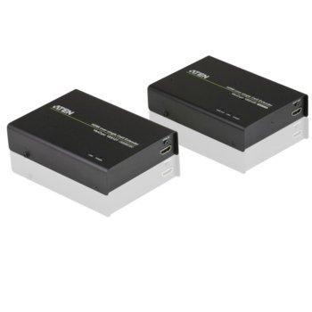 KVM екстендър ATEN VE812, от HDMI(ж) през мрежови кабел(RJ45ж) към HDMI(ж), 2 устройства image