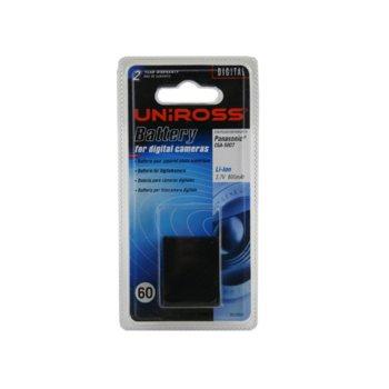 Батерия Cameron Sino за апарат Panasonic CGA S007, Lumix DMC-TZ4, LiIon 3.7V, 1000mAh  image