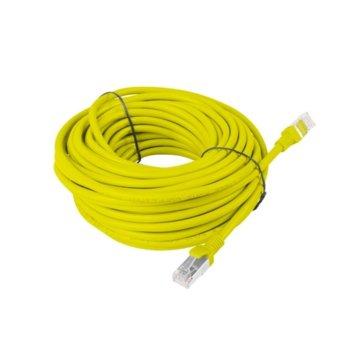 Пач кабел Lanberg PCF5-10CC-1500-Y, FTP, cat.5e, 15м, жълт image