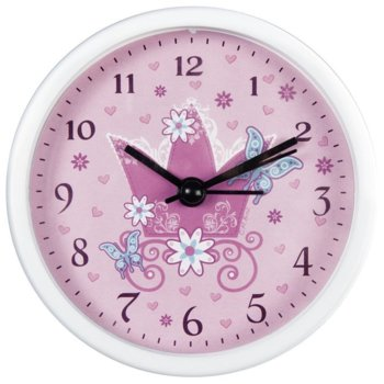Часовник Hama Crown 186374, детски, аналогово указание, аларма, бял image