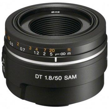 Обектив Sony SAL-50F18, 50mm, f/1.8, DSLR image