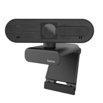 Уеб камера Hama C-600 Pro (HAMA-139992), 1920x1080 / 30FPS, микрофон, USB, черна image