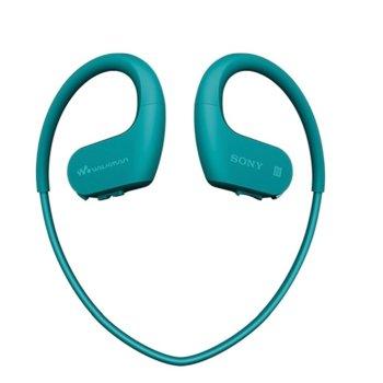 MP3 плейър, Sony Walkman NW-WS625, 16гб памет, син image