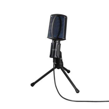 Микрофон Hama uRage MIC xStr3am Essential, USB, 2m кабел, черен image