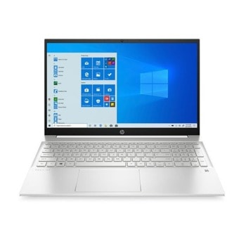 "Лаптоп HP Pavilion 15-eh0019nu (2K5B4EA)(бял), осемядрен AMD Ryzen 7 4700U 2.0/4.1GHz, 15.6"" (39.62 cm) Full HD IPS Anti-Glare Display, (HDMI), 16GB DDR4, 1TB SSD, 1x USB 3.1 G1 Type-C, FreeDOS image"