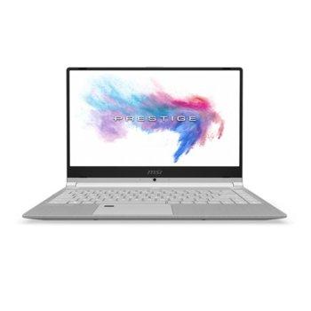 "Лаптоп MSI PS42 8RB-273BG (9S7-14B121-273)(сребрист), четириядрен Coffee Lake Intel Core i7-8550U 1.8/4.0GHz, 14.0""(35.56cm) FHD IPS Anti-Glare дисплей & GF MX150 2GB, (HDMI), 8GB DDR4, 512GB SSD, 2x USB-C 3.1, Windows 10, 1.19 kg image"