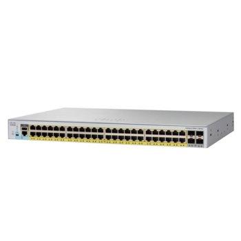 Суич Cisco Catalyst 2960L, 48x10/100/1000Base-T, 4x 10G SFP+ image
