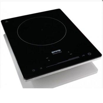 Индукционен плот Gorenje ICE2000SP, Power Boost функция, 2000W, сензорно управление, инокс image