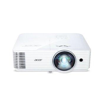 Проектор Acer S1386WH, DLP, 3D, WXGA (1280 x 800), 20 000:1, 3600 lm, HDMI, VGA, Composite Video, AUX image