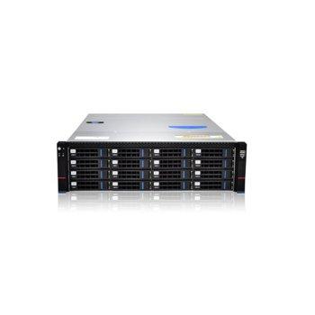 """Кутия Gooxi RMC3116-670-HSE-D-R800, 3U Rack Mount, 16x 3.5""""/2.5"""" SATA/SAS Hot Swap, 2x 800W 80+ Platinum захранвания image"""