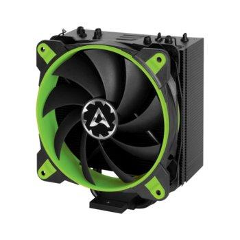 Охлаждане за процесор Arctic Freezer 33 eSports ONE, съвместимост с 2066/2011/3/1151/1150/1155/1156/ и AMD AM4, зелен image