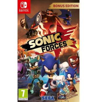 Игра за конзола Sonic Forces Bonus Edition, за Switch image