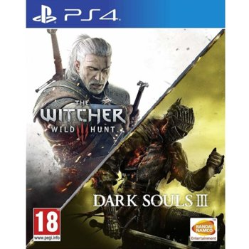 The Witcher 3 Wild Hunt + Dark Souls III (PS4) product