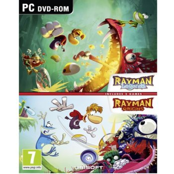 Rayman Origins and Legends product