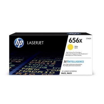 Касета за HP LaserJet Enterprise M652, M653 - Yellow - P№ CF462X - Заб.: 22 000k image