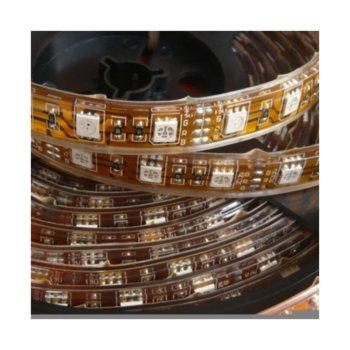 LED лента ORAX LS-3528-60-W-IP67, 4.8W/m, DC 12V, 300lm/m, 5m image
