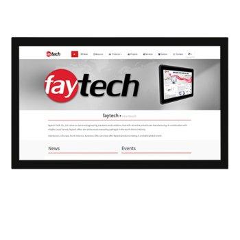 """Индустриален монитор FAYTECH FT43TMHDKOBHB, 42.5""""(108.0 cm), Full HD LED, VGA, HDMI, DVI-D, RS232 image"""