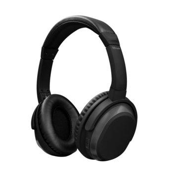 Слушалки Trust Paxo, Bluetooth, микрофон, 22 часа време на работа, черни image
