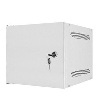 "Комуникационен шкаф Lanberg WF10-2304-00S, 10"", 4U, 280x310mm, товароносимост 20кг, сив image"