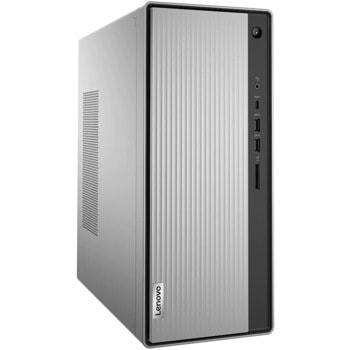 Настолен компютър Lenovo IdeaCentre 5 14ARE05 (90Q3000DRI), шестядрен AMD Ryzen 5 4600G 3.7/4.2GHz, 16GB DDR4, 512GB SSD, 1x USB 3.2 Gen 2 Type-C, Free DOS image
