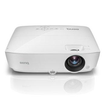 Проектор BenQ TW533, DLP, 3D Ready, WXGA (1280x800), 3300 lm, 15,000:1, 2x HDMI, 2x VGA, 1x USB mini B image