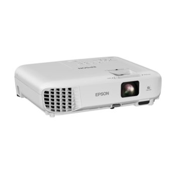 Проектор Epson EB-W05, 3LCD, WXGA (1280 x 800), 15,000:1, 3300 lm, HDMI, USB Type A, USB Type B, VGA image