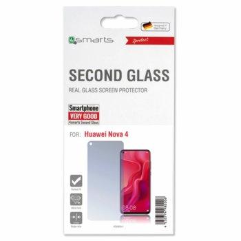 Протектор от закалено стъкло /Tempered Glass/, 4Smarts 4S496014, за Huawei Nova 4 image