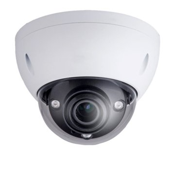IP камера Dahua IPC-HDBW5421EP-Z, куполна, 4 Mpix (2560x1440/20Fps), 2.7mm~12mmm моторизиран обектив, H.264/H.264H/H.264B/MJPEG, IR осветеност (до 50 метра), PoE, вандалоустойчива IK10, IP67 защита от вода, RJ-45, Micro SD memory, 1/1 channel In/Out  image