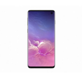 "Смартфон Samsung Galaxy S10 (черен), поддържа 2 sim карти, 6.1"" (15.494 cm) Dynamic AMOLED дисплей, осемядрен Exynos 9820 Octa (2x 2.7GHz & 2x 2.3GHz & 4x 1.9GHz), 8GB RAM, 128GB Flash (+ microSD слот), 12.0 + 16.0 + 12.0 & 10.0 Mpix camera, Android image"