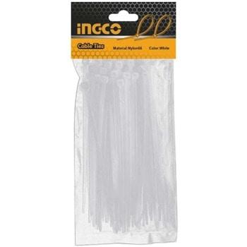 Кабелни превръзки / свински опашки 100 броя INGCO HCT2001 image