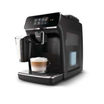 Кафемашина Philips EP2231/40, 230W, 15 bar, 1.8 л., кафемелачка, черен image