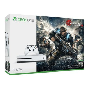 Microsoft Xbox One S 1TB HDD Gears of War 4 product