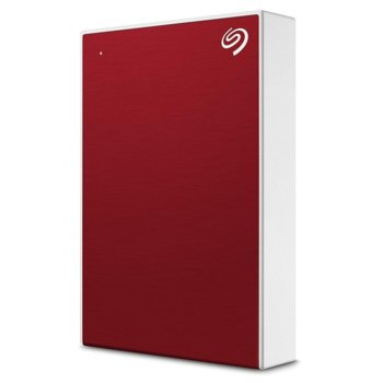 """Твърд диск 4TB, Seagate Backup Plus Portable STHP4000403 (червен), външен, 2.5"""" (6.38 cm), USB 3.0 image"""