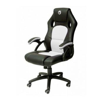 Геймърски стол Nacon PCCH-310, до 110 кг. натоварване, бял/черен image