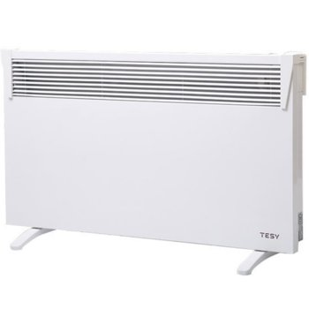 Конвектор Tesy CN 03 300 MIS F + КРАЧЕТА, свободностоящ уред, защита срещу прегряване, механичен терморегулатор, 3000W, бял image